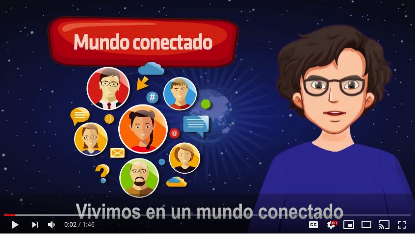 Videos animados de Ciudadanía Digital (MINEDUC)