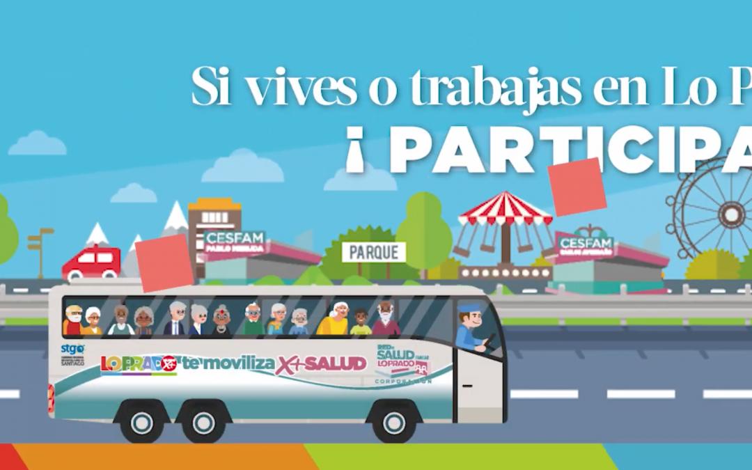 Animación para votación en PLADECO Lo Prado 2018