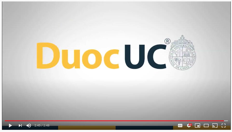 Animación para Duoc UC